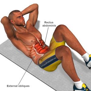 abdominal que faz trincar a barriga